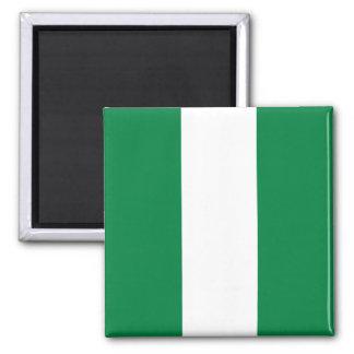 Imán de la bandera de Nigeria