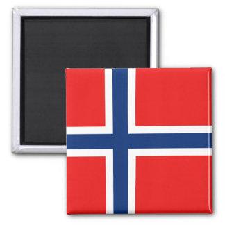 Imán de la bandera de Noruega