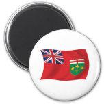 Imán de la bandera de Ontario