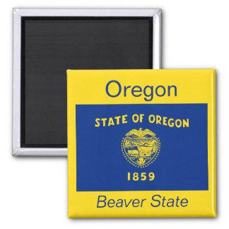 Imán de la bandera de Oregon