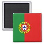 Imán de la bandera de Portugal
