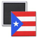 Imán de la bandera de Puerto Rico