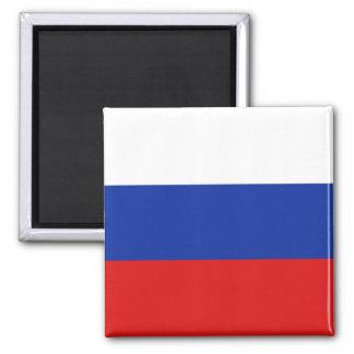 Imán de la bandera de Rusia