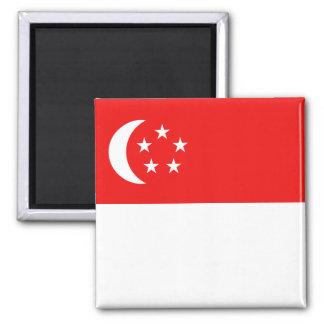 Imán de la bandera de Singapur
