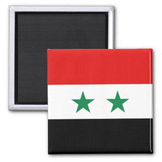 Imán de la bandera de Siria
