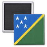 Imán de la bandera de Solomon Island