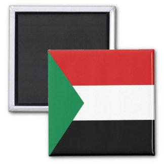 Imán de la bandera de Sudán