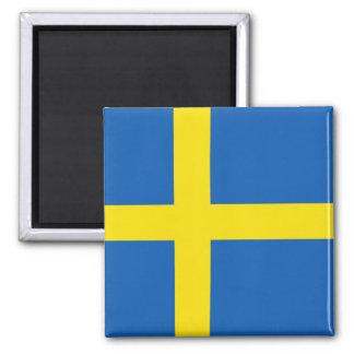 Imán de la bandera de Suecia