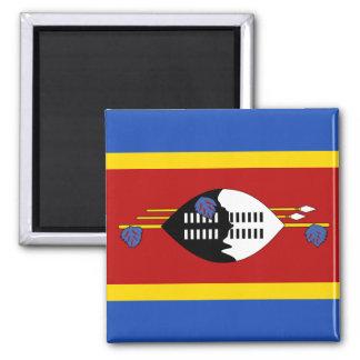 Imán de la bandera de Swazilandia