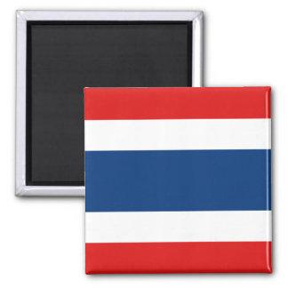 Imán de la bandera de Tailandia