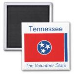 Imán de la bandera de Tennessee