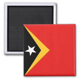 Imán de la bandera de Timor Oriental