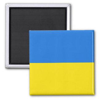 Imán de la bandera de Ucrania