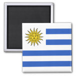 Imán de la bandera de Uruguay
