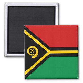 Imán de la bandera de Vanuatu