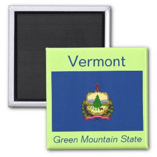 Imán de la bandera de Vermont