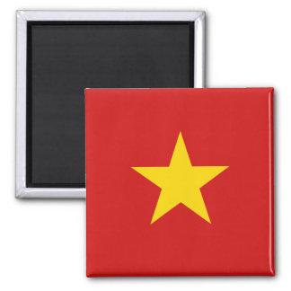 Imán de la bandera de Vietnam