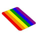Imán de la bandera del arco iris