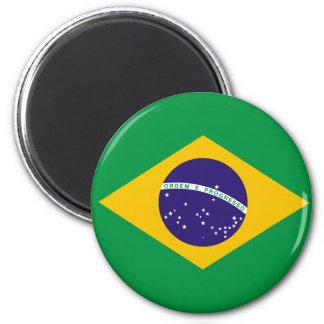Imán de la bandera del Brasil