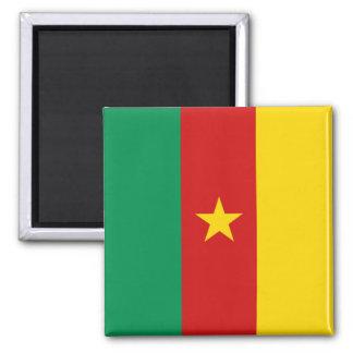Imán de la bandera del Camerún