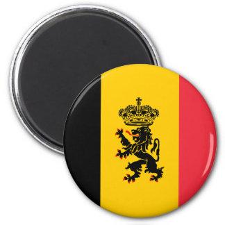 Imán de la bandera del estado de Bélgica
