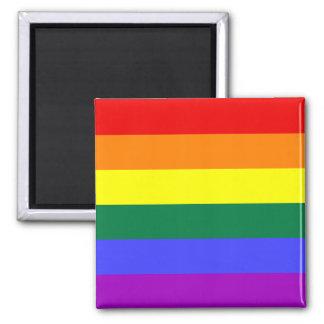 Imán de la bandera del orgullo del arco iris
