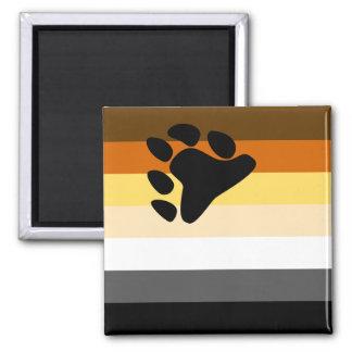 Imán de la bandera del oso
