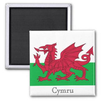 Imán de la bandera Galés