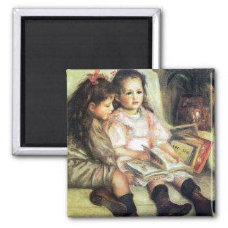 Imán de la bella arte de los niños