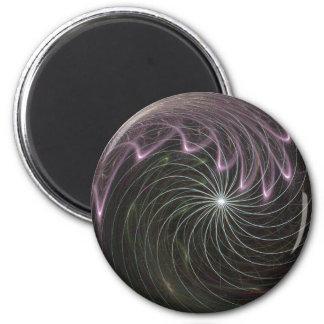 Imán de la bola de fuego del fractal