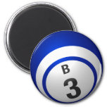 Imán de la bola del bingo B3