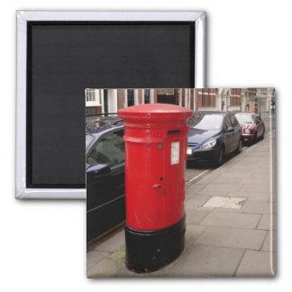 imán de la caja del poste de Londres