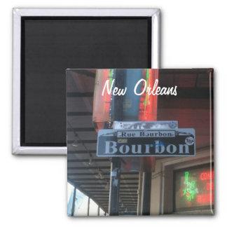 Imán de la calle de New Orleans Luisiana Borbón