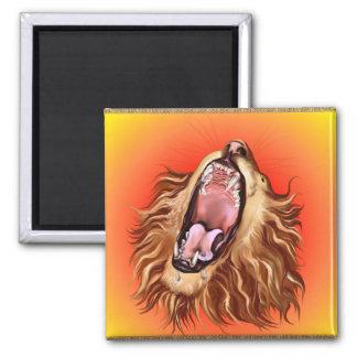 Imán de la cara del león