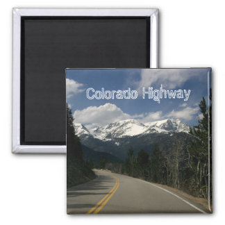 Imán de la carretera de Colorado
