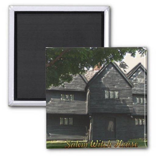 Imán de la casa de la bruja de Salem