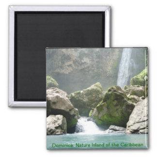 Imán de la cascada de Dominica