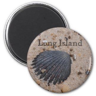 Imán de la cáscara de concha de peregrino de Long