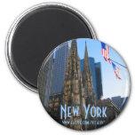 Imán de la catedral de New York City St Patrick