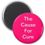 Imán de la causa del cáncer