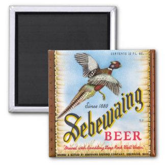 Imán de la cerveza de Sebewaing