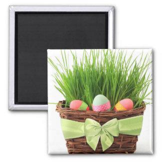 Imán de la cesta de Pascua