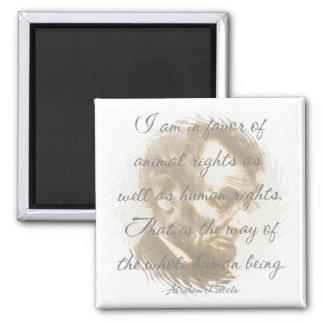 Imán de la cita de Abraham Lincoln
