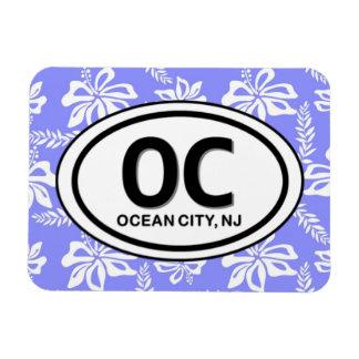 Imán de la ciudad NJ del océano OC