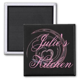 Imán de la cocina de Julia