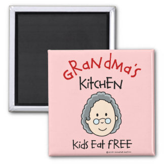 Imán de la cocina de la abuela