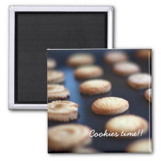 Imán de la colección de las galletas de mantequill