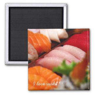Imán de la colección del sushi de Japón