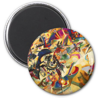 Imán de la composición VII de Kandinsky