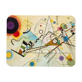 Imán de la composición VIII de Kandinsky